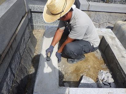 知立市、名古屋市で墓石工事
