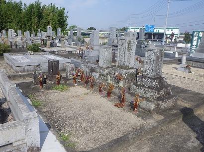 岡崎市、西尾市で墓石工事