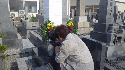 知立市、刈谷市、豊田市で完成したお墓への開眼・納骨式