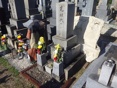 半田市、西尾市で墓石工事