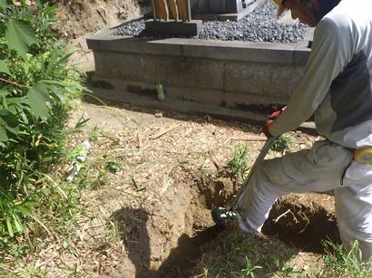 岡崎市、豊田市で墓石工事