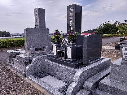 西尾市で完成したお墓への開眼・納骨式
