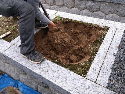 蒲郡市、西尾市でお墓工事
