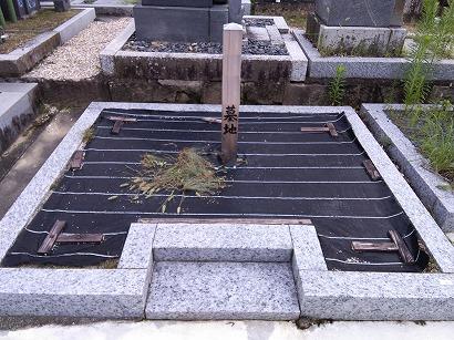岡崎市、碧南市でお墓工事