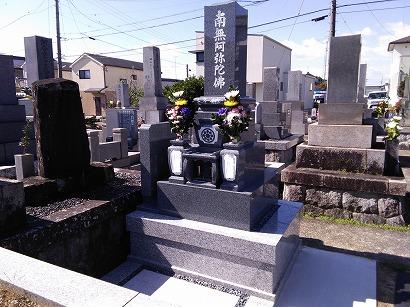 安城市、西尾市で完成したお墓への開眼・納骨式