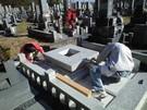 墓石設置工事3