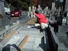 墓石設置工事4