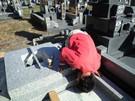 墓石設置工事5