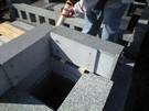 墓石設置工事9