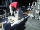 墓石設置工事16